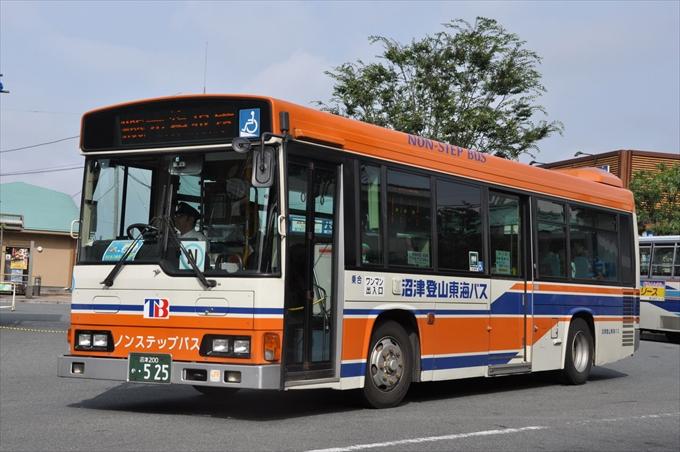 伊豆から沼津港 バス 路線 伊豆箱根バス 沼津登山東海バス