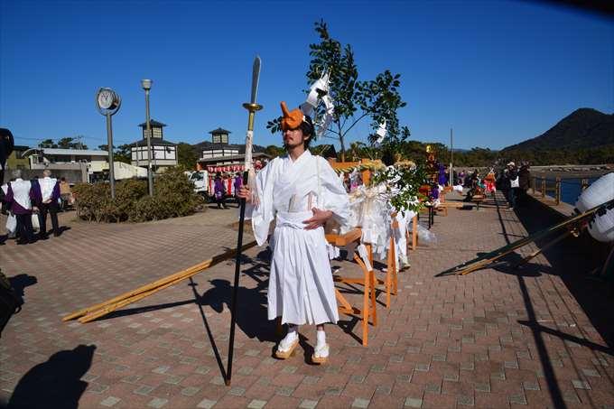 厳冬海中みそぎ祭り 第17回 平成30年
