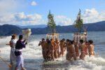厳冬海中みそぎ祭り 第10回 平成23年