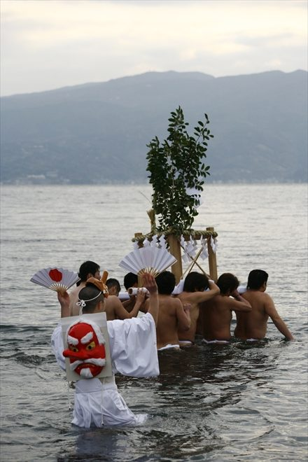 厳冬海中みそぎ祭り 第7回 平成20年