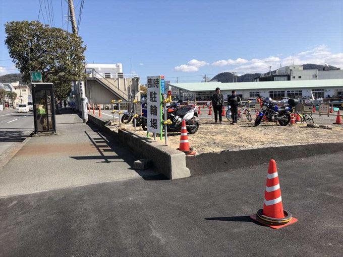 沼津港 自転車 バイク 駐輪場 駐車場 静岡県