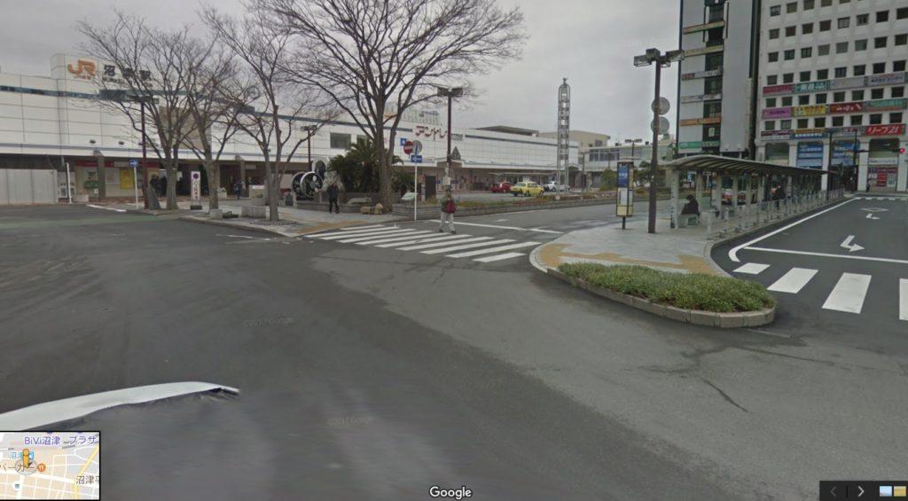 沼津駅から沼津港まで、歩きバス車で行く攻略マップ