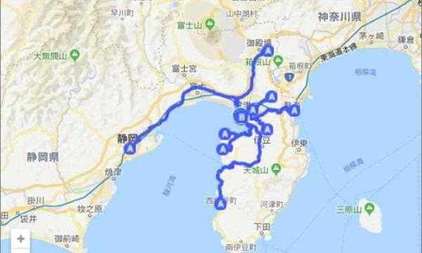 沼津港から何分?周辺観光 googleマップ