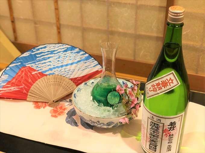沼津港 千本一 ひな祭り 冷酒 日本酒
