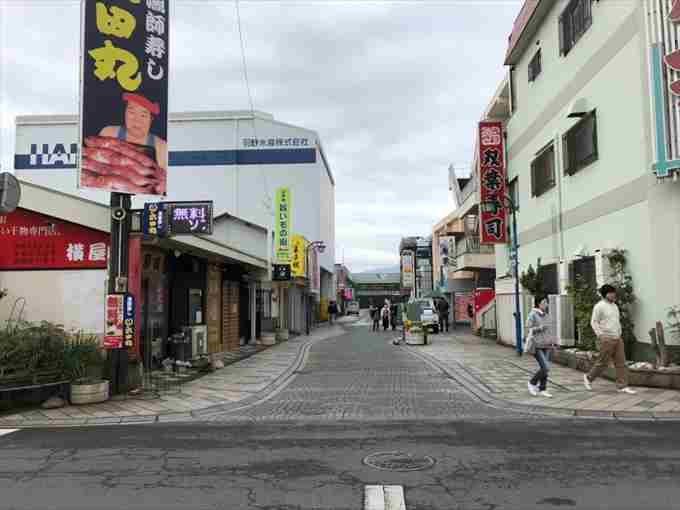 沼津港GW3日目混雑状況4月29日月曜日