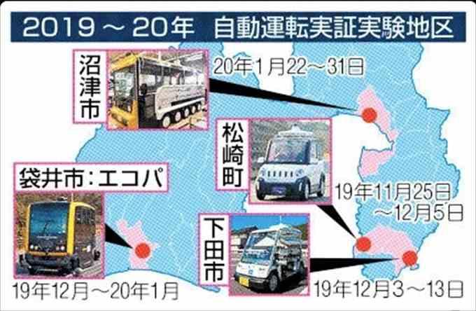 乗ってみた! 沼津駅~沼津港間、自動運転バス実証実験
