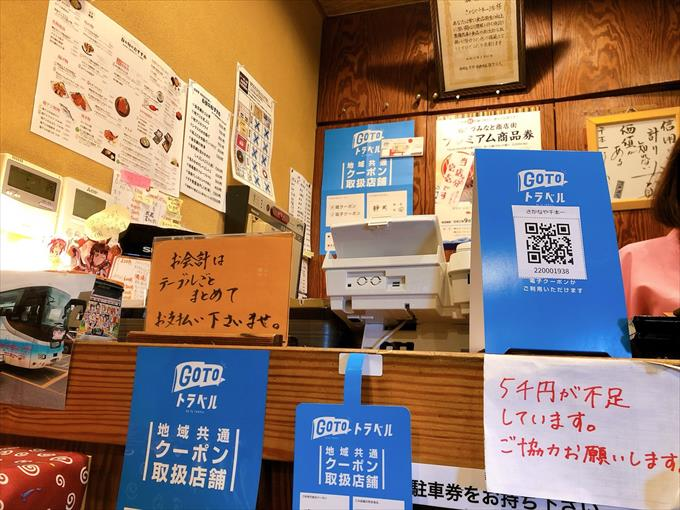 沼津港goto地域共通電子クーポン使えます